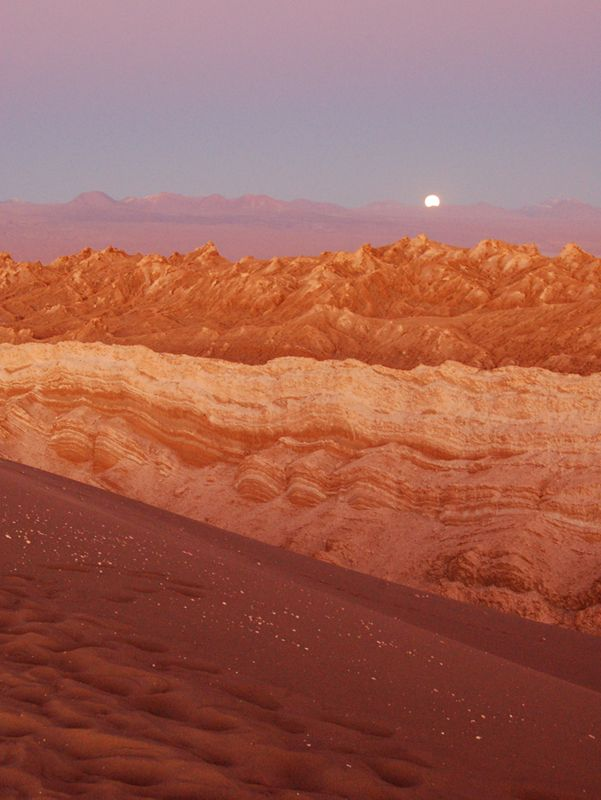 Valle de la Luna, San Pedro de Atacama, Chile, 2011.  To visit soon---like next week?!