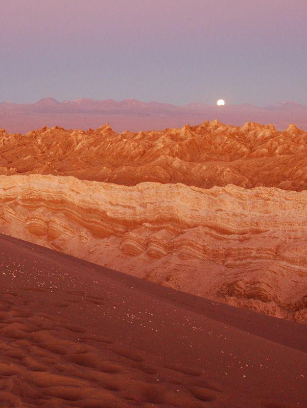 Valle de la Luna, San Pedro de Atacama, Chile, 2011. To visit soon---like next week?!