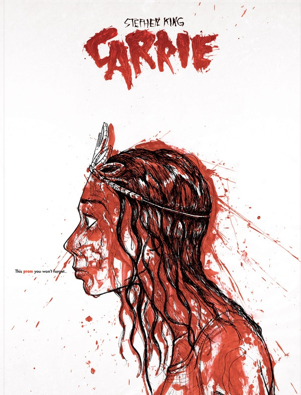 Carrie 1974    by Stephen King