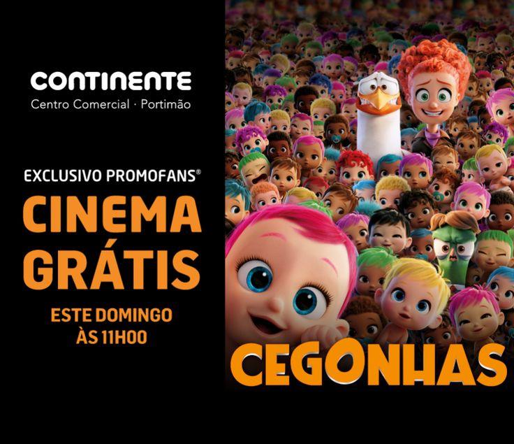 Cinemas Cineplace: Cinema Grátis_PromoFans_Cegonhas_CC Continente de Portimão - Cinemas Cineplace: Cinema Grátis_PromoFans_Cegonhas_CC Continente de Portimão