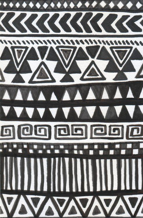 I love the pattern! I really think the black and white make it look not as busy and crazy. Good way to simplify and extravagant pattern.