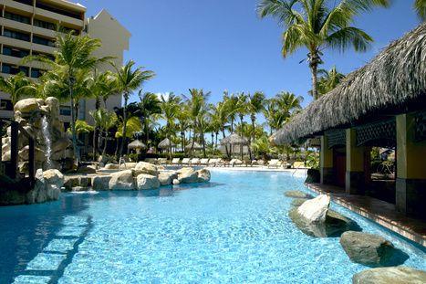 Occidental Grand Aruba. Where I stayed on my honeymoon.