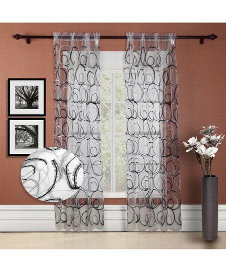Kitchen Curtains black and silver kitchen curtains : 17 Best ideas about Black And Silver Curtains on Pinterest ...