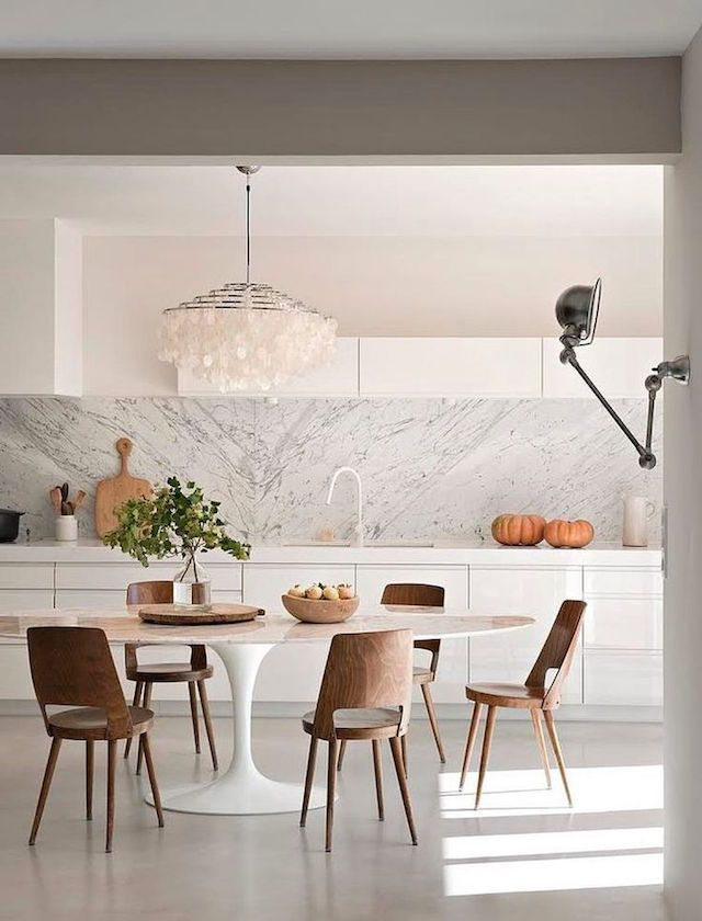 COOL, CLEAN & CRISP we've got a lot of love for these inspired white kitchens