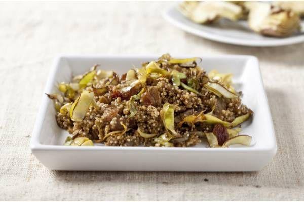 Ricetta di Quinoa ai carciofi e uvetta - Star