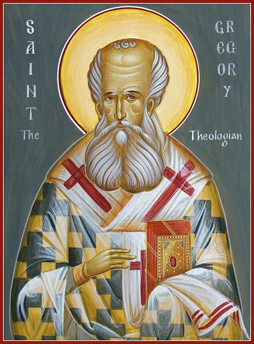 """One of only three hailed as """"theologian"""" in the Eastern Orthodox Church, the other two being St John and St Symeon."""