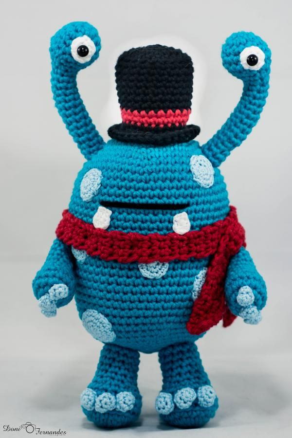 17 Best images about Amigurumi - Monsters/Aliens on ...