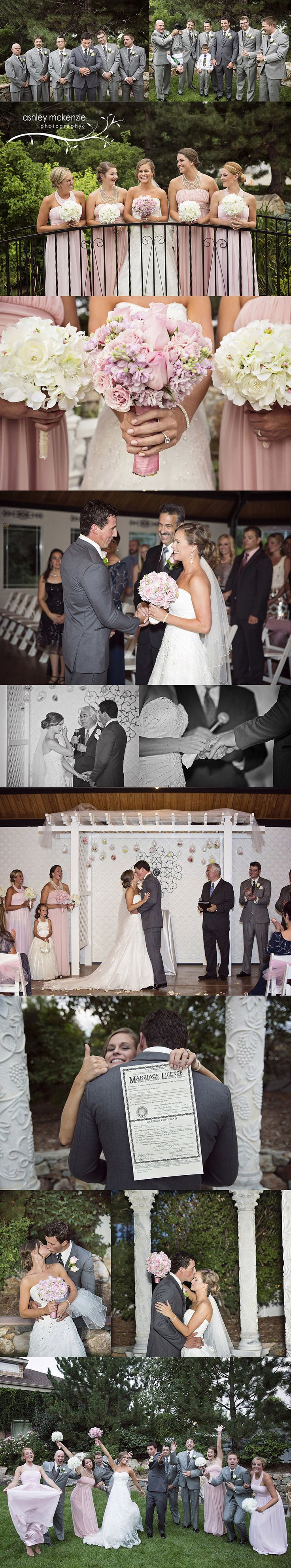 Wedding Photography by Ashley McKenzie Photography at Stonebrook Manor in Thornton, CO
