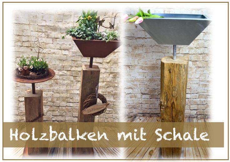 Holzbalken mit Schale - Holzfüchse GbR