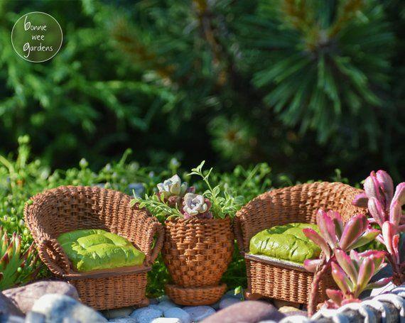 Excellent Fairy Garden Patio Set Miniature Outdoor Furniture Download Free Architecture Designs Scobabritishbridgeorg