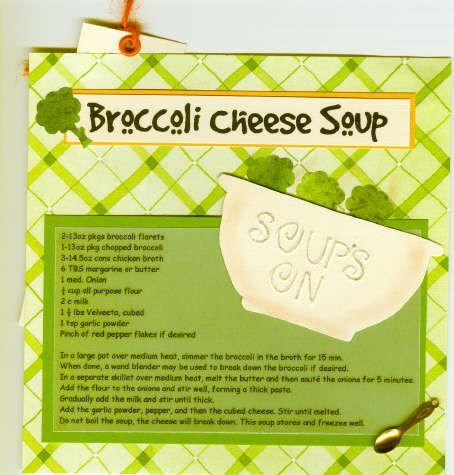 Searchwords: Broccoli Cheese Soup Recipe