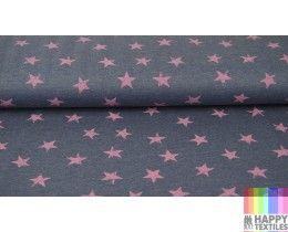 Online jogging ster roze, jeans kopen? Bestel nu bij Happy Textiles!