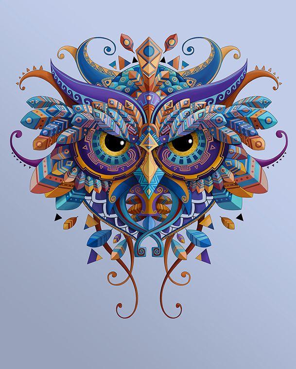 OWL / BUHO on Behance