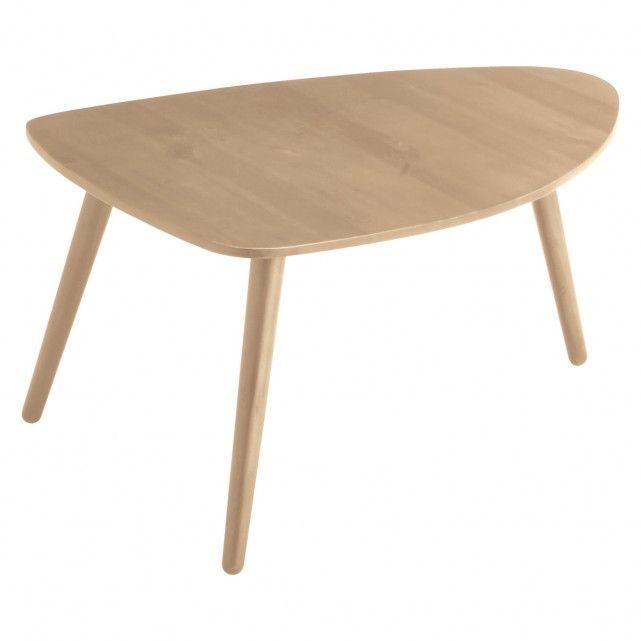 JOYCE Small oak coffee table