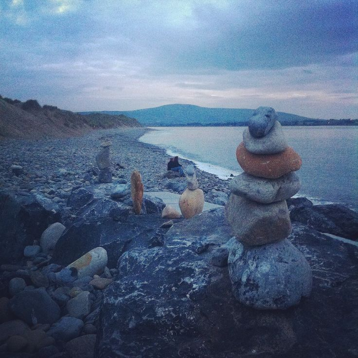Stone stacks #Strandhill
