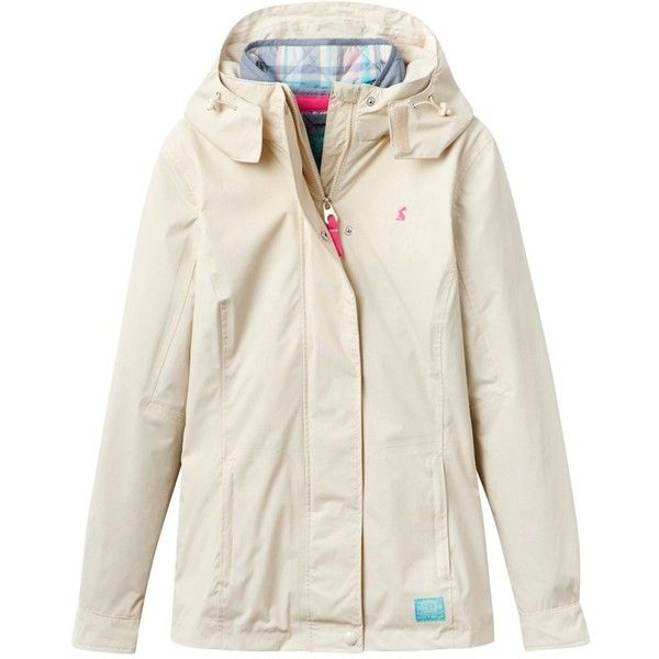 Joules Weatherall 3-in-1 Waterproof Parka, Winter White ($235) ❤ liked on Polyvore featuring outerwear, coats, waterproof parka, joules coats, hooded parka, water proof coat and long sleeve coat