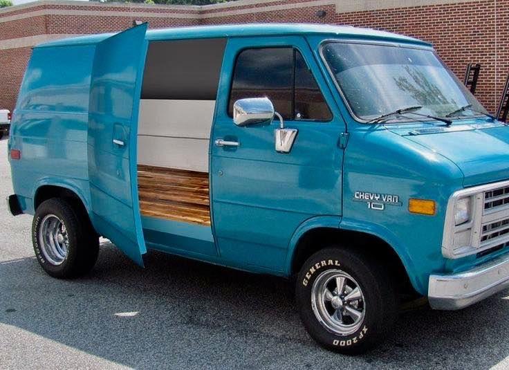 2 Vans 1971 1979 Only Gmc Vans Chevy Van Custom Vans