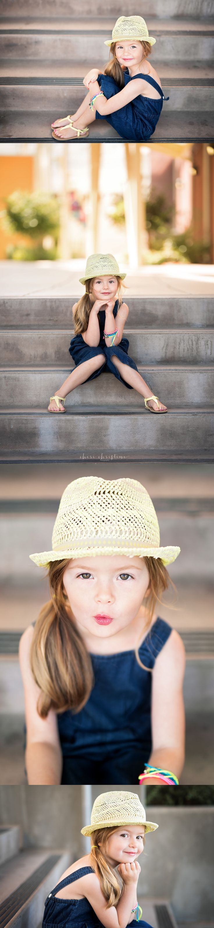 Urban photo shoot for 5 year old milestone | Cheri Christine Photography | Rocklin, CA