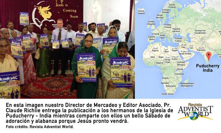 Adventist World presente en Puducherry - India.