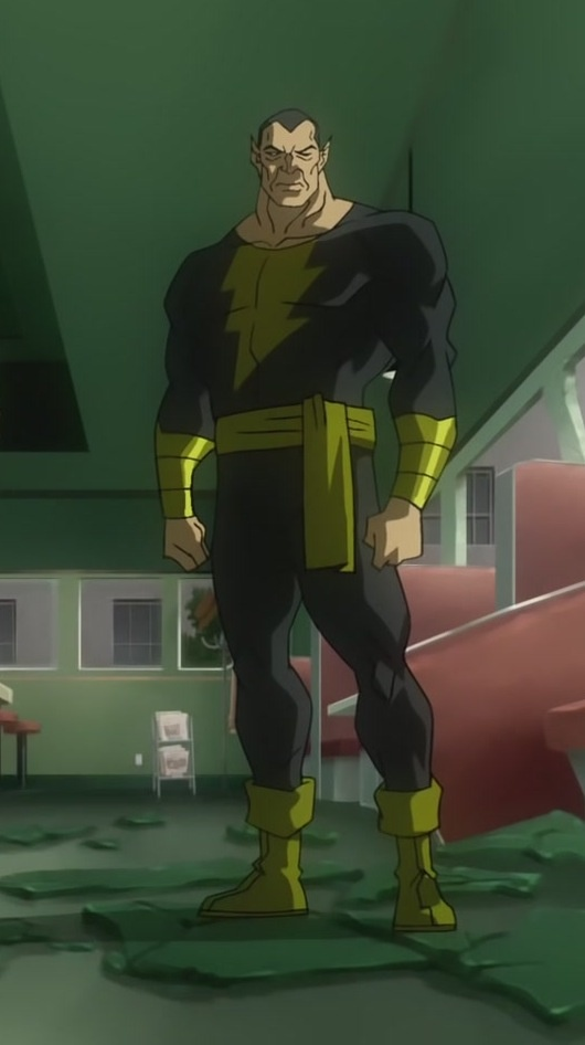 Black Adam (Teth Adam) is a fictional character, a supervillan in the DC Comic universe. Created by Otto Binder and C. C. Beckirst, he first appeared in Marvel Family #1 in 1945. Circa 1200 BC, Shazam the wizard grew older, and sought a champion worthy to inherit his powers. The young prince Teth-Adam of Kahndaq (Ramses' son) impressed the wizard with his fairness and decency. But before Shazam could bestow his powers, his daughter Blaze made a deal with the god Set. When Teth-Adam spoke…