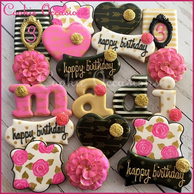 192 Best Images About Birthday Decorated Cookies And Cake