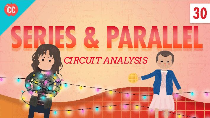 Have you ever wondered what it would take to figure out the current required to power all of the tiny bulbs that make holiday lights glow? Crash Course has the physics lesson. (Grades: 6-12)