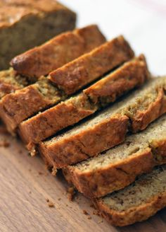 The very best banana bread. Moist, spicy loaf with NO refined sugar. You won't miss it (and everyone will want the recipe)!