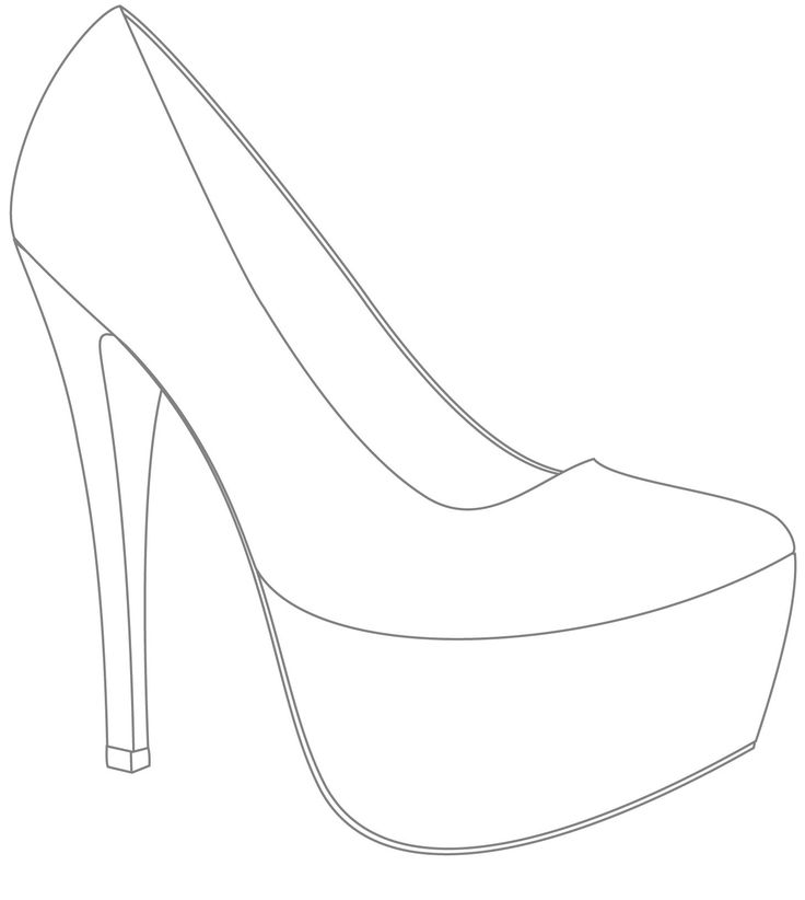 template for shoes | Design & Win Your Wedding Shoes with IF Ladies · Rock n Roll Bride