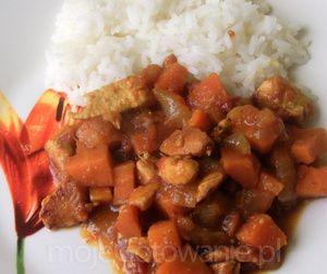 Curry z marchewką
