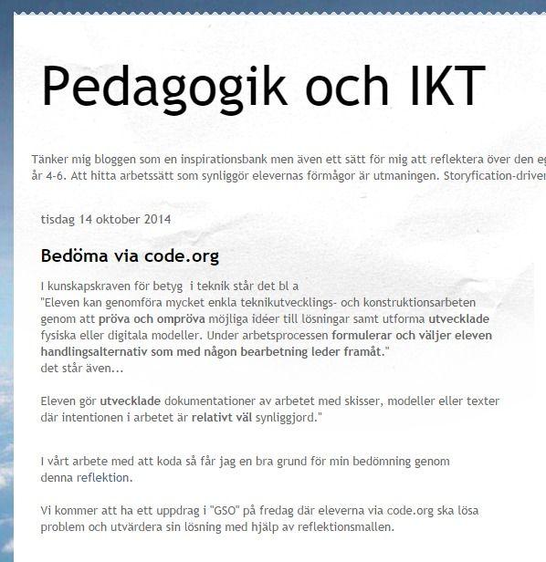 #Pedagogik och IKT får #synpalarande! http://pedagogikochikt.blogspot.se/
