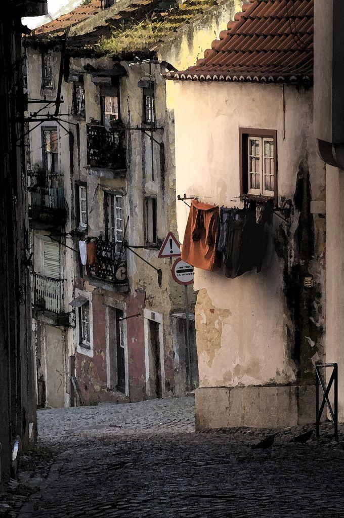 Lisboa velha, mas sempre cheia de história.