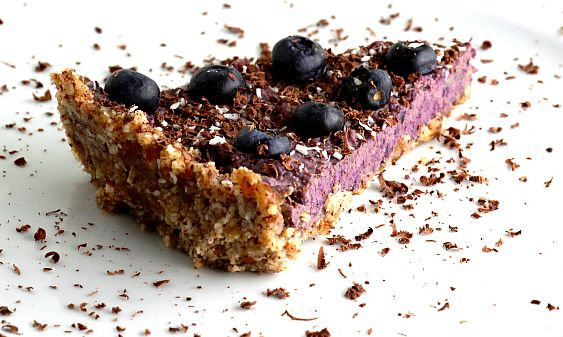 Blueberry Cheesecake - uhm-god -