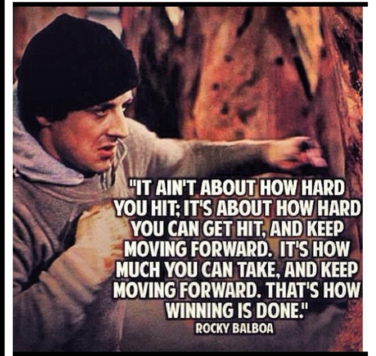Rocky Balboa Life Is Hard Quote: 30 Best Fool Images On Pinterest