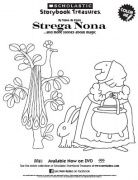 strega nona on dvd coloring sheet kids printables scholastic storybook treasures