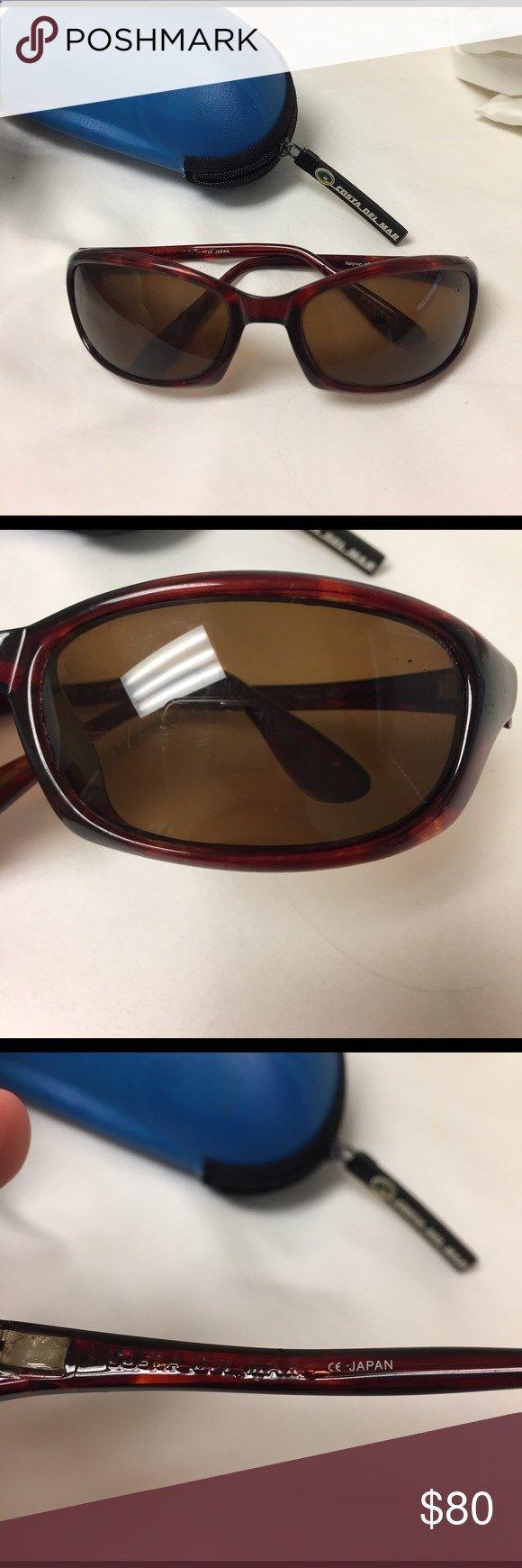 Fishing Sunglasses - Costa Del Mar Harpoon Sunglasses Costa Del Mar Harpoon Sunglasses. Sporty fishing glasses. Unisex. Worn but good condition. Price neg. Costa Del Mar Accessories Sunglasses
