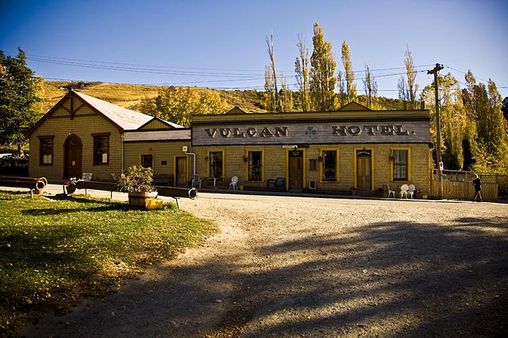 Vulcan Hotel, St Bathans, see more, learn more, at New Zealand Journeys app for iPad www.gopix.co.nz