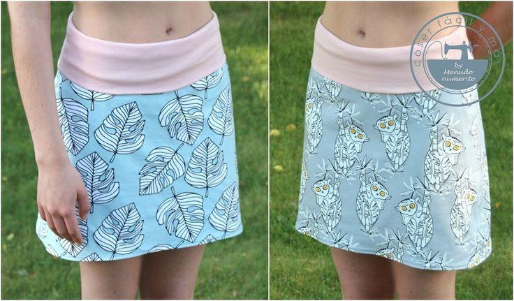 Hagamos una falda reversible con este tutorial