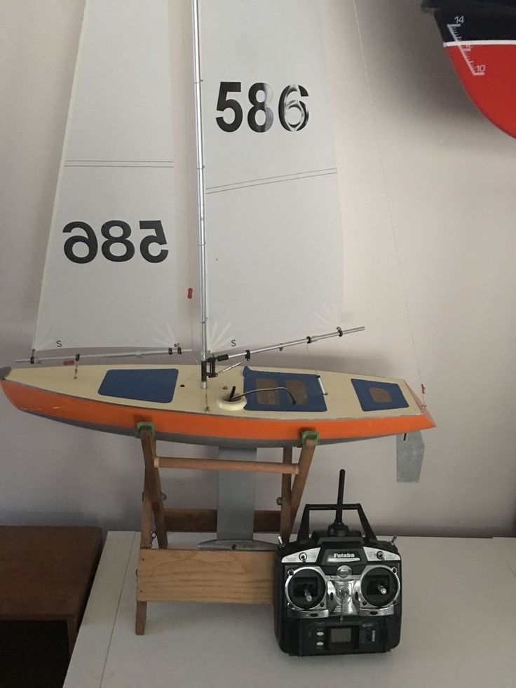 Rc #model boat yacht #fiesta with futaba #radio 6 channel #radio,  View more on the LINK: http://www.zeppy.io/product/gb/2/222310614790/