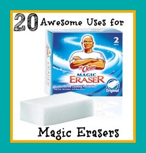 20 Awesome Uses for Magic Erasers