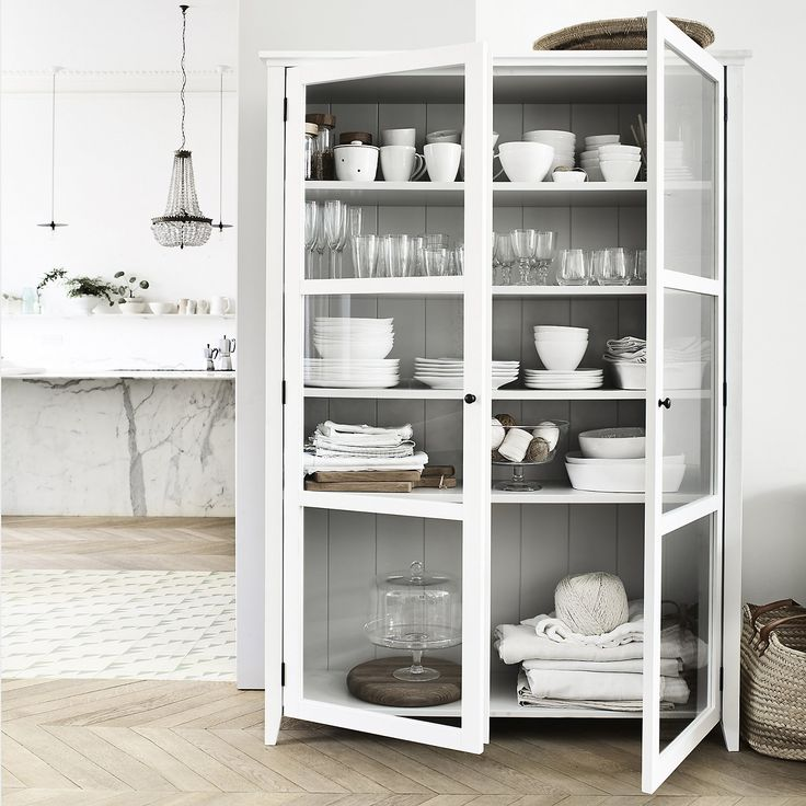 Glass Display Cabinet | New In | Furniture | Home | The White Company UK