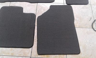 jual karpet nomad 3M 089604376367: 3M carpet mats series 4000 applicated in a car