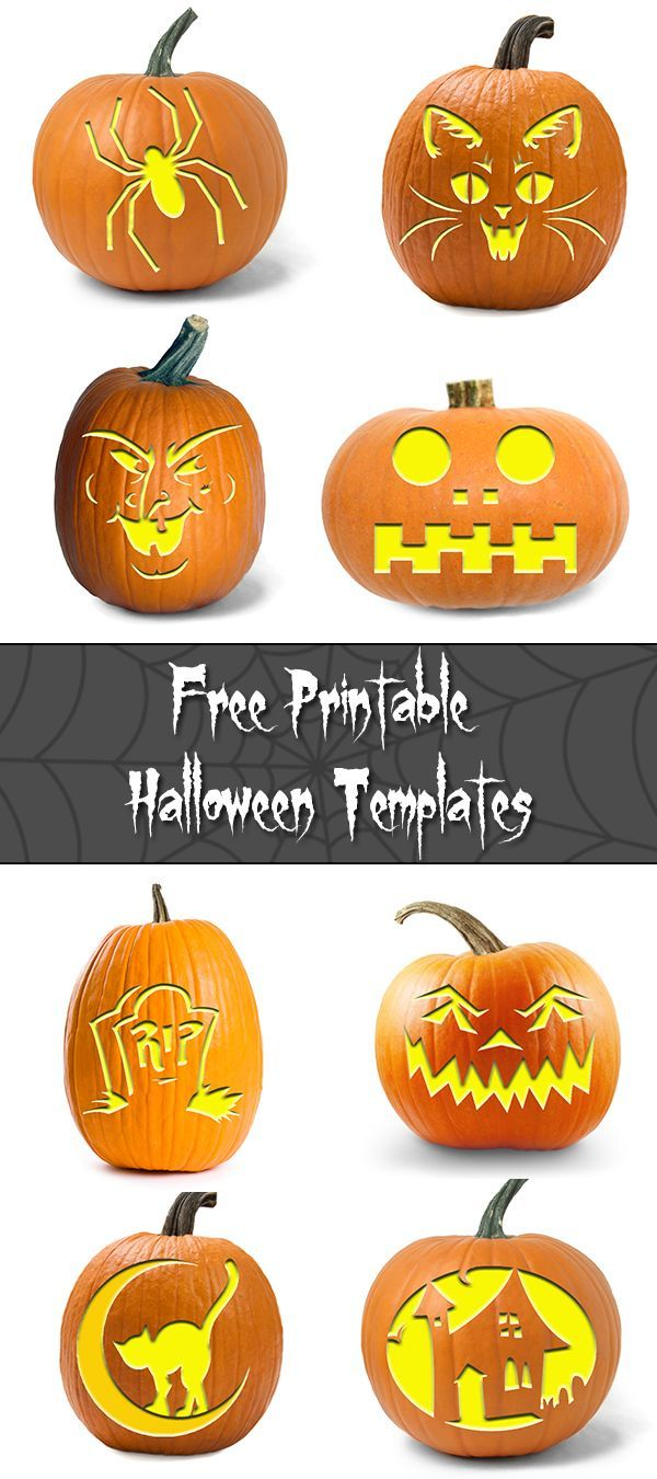 50+ Free Halloween Templates for any DIY craft
