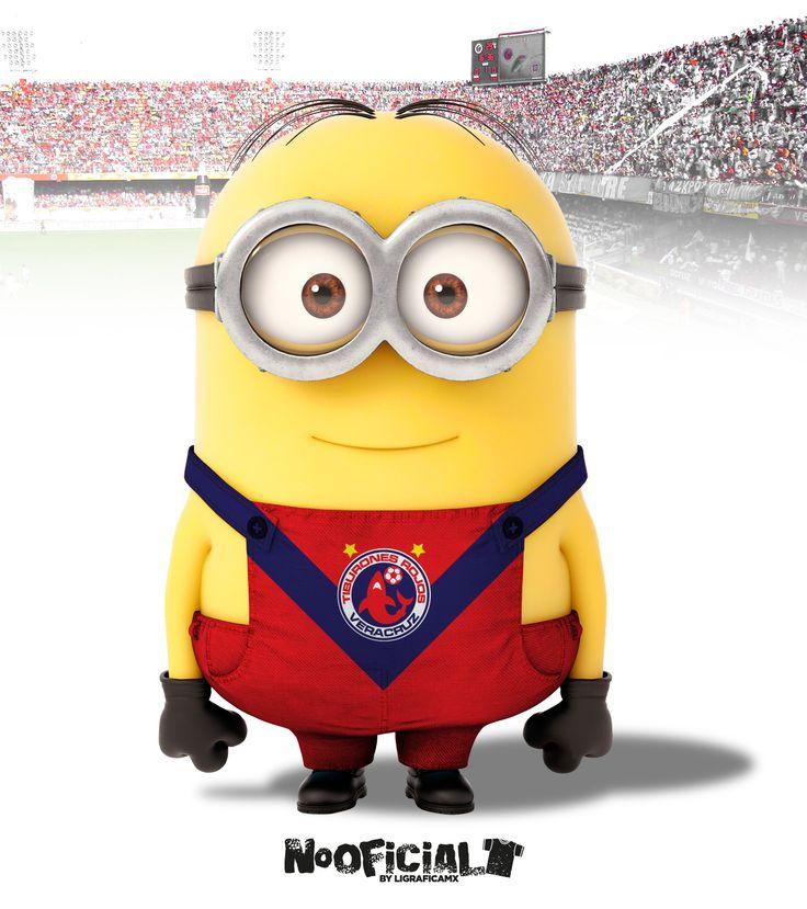 #Soccer #minion #NoOficial #LigraficaMX @Tiburones Rojos de Veracruz