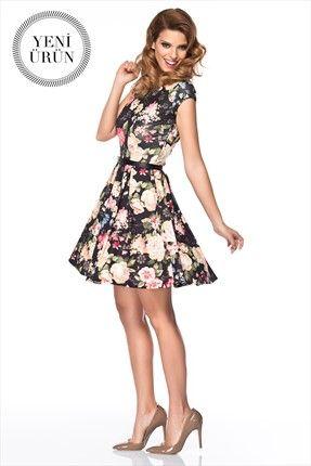 Çiçekli Elbise MLWSS142189