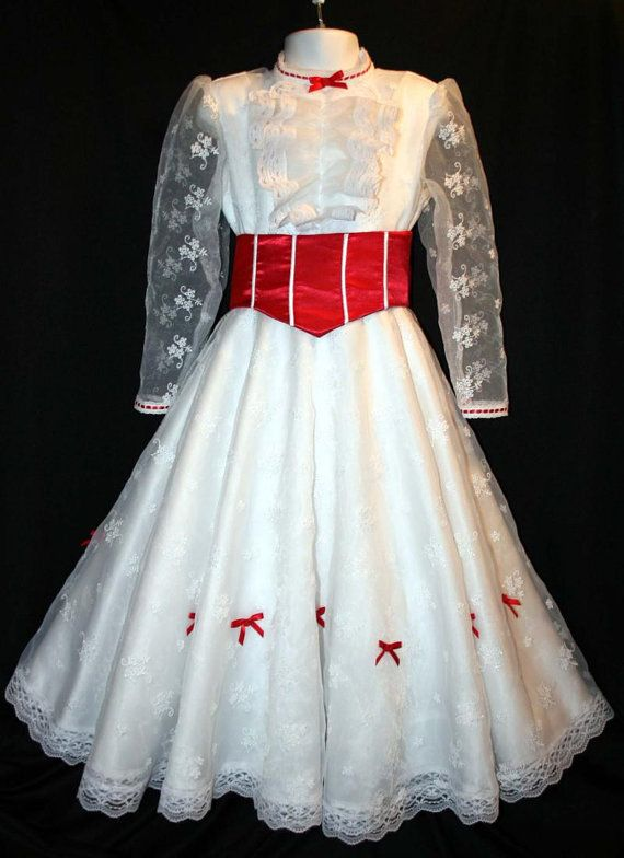 Mary Poppins Jolly Holiday Costume Dress Set von mom2rtk auf Etsy, $319,99