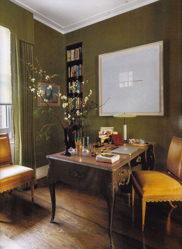 Olive Green Veere Grenney His Home
