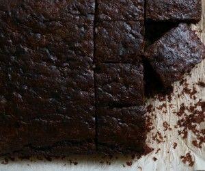 Chocolate+Zucchini+Snack+Cake