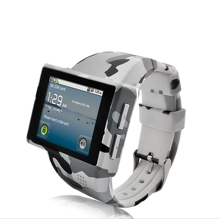 Cool Android Phone watch in the latest US Army Combat Uniform Pattern!