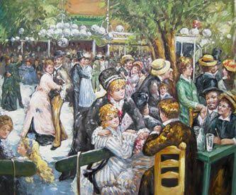 Baile del molino de la galette _ Renoir