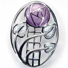 beautiful Charles Rennie Mackintosh brooch @Charles Rennie Mackintosh